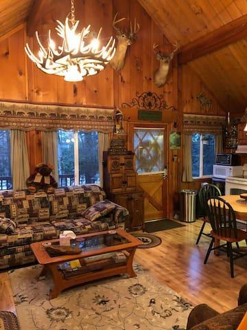 Black Bear Cozy Cabin Chalet