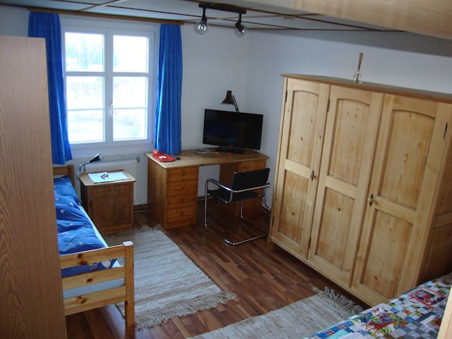 Cheap room for two - Niederdorf - Rumah