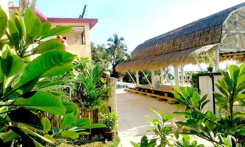 Garden view & Parking Space