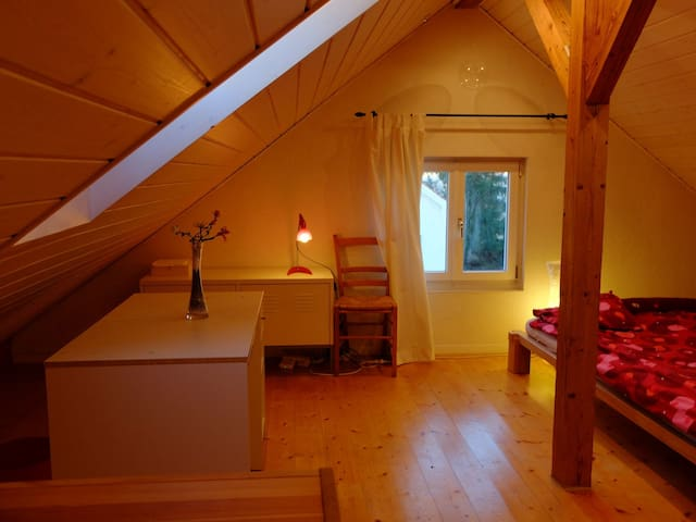 Big Room close to Basel City - Riehen - Hus