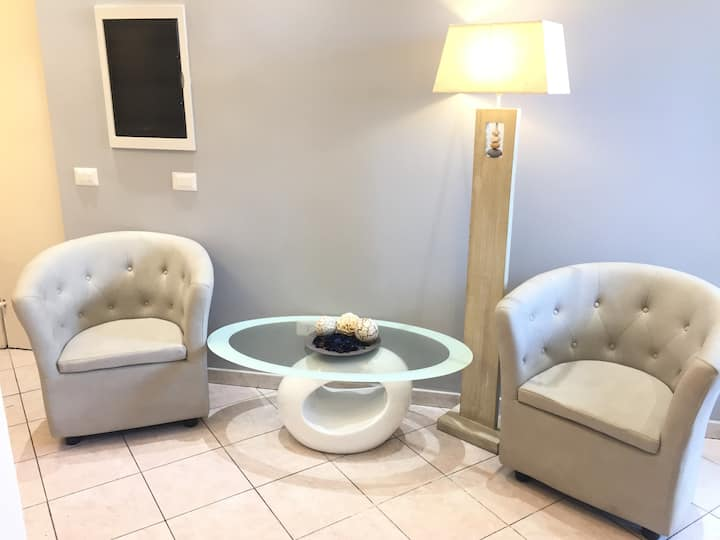 Small Double room with private bathroom(Bakirooms)