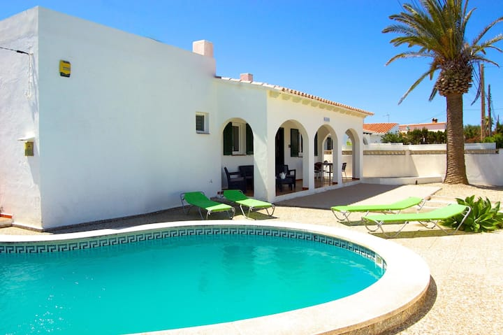 Villa Dulcesol - Holiday Villa by the Sea with swimming pool on Menorca Island, Spain