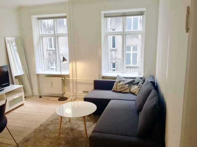 Cozy flat in fashionable and green Frederiksberg