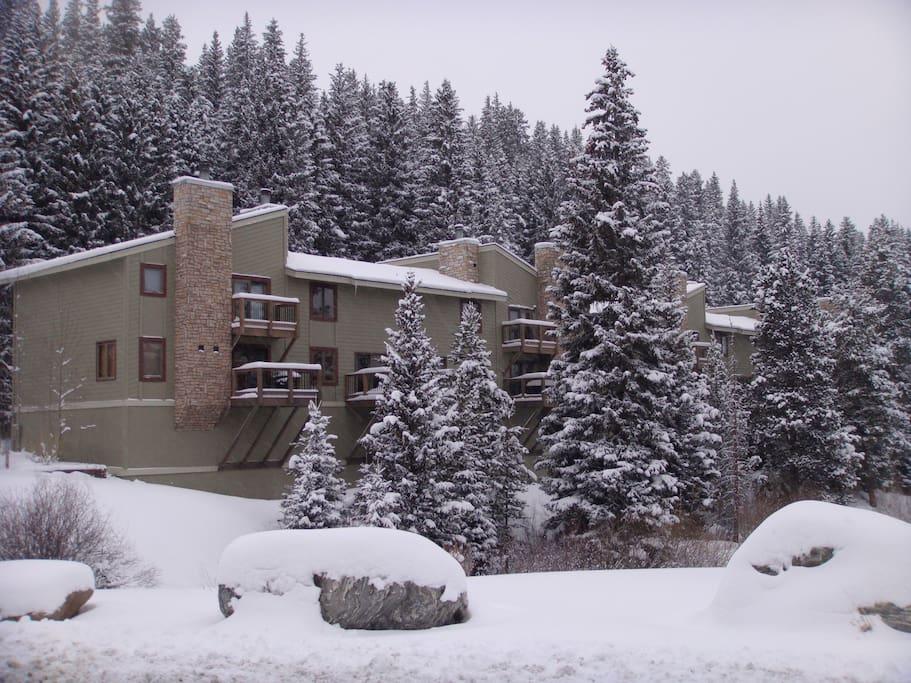 breckenridge condo with great views