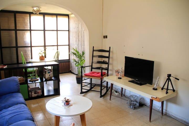 Amazing & effordable, 10 min from TLV center - Ramat Gan - Apartamento