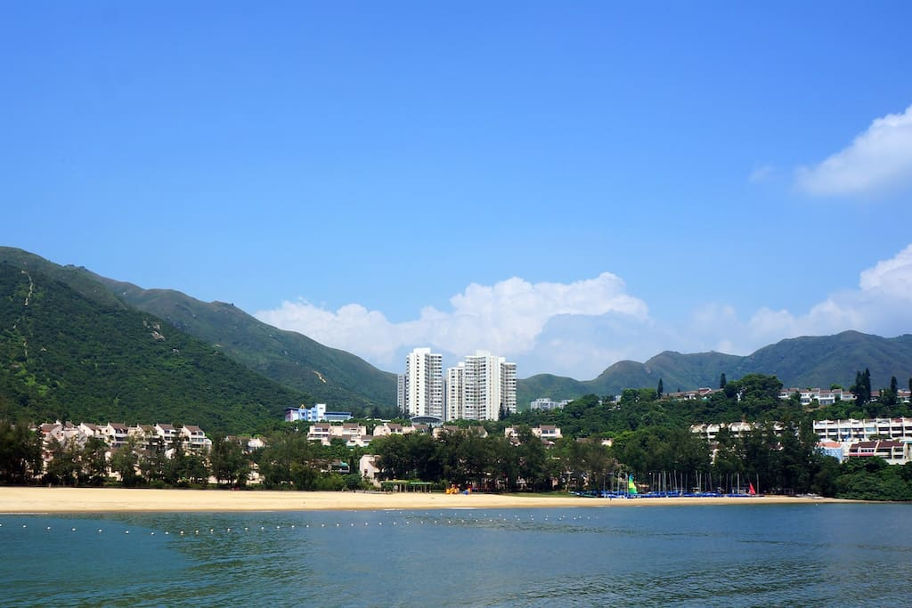Beachfront resort living just 25 minutes from Central Hong Kong!