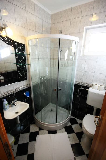Confort and clean bathroom