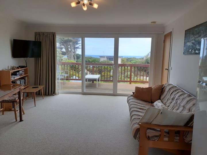 Anglesea Ocean View Apartment - Sleeps Two