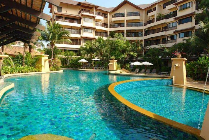 very luxurious apartment