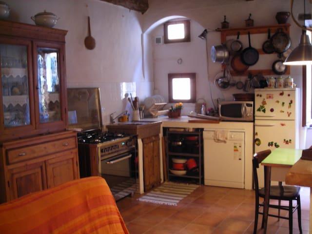 La casa di Dina  Castelmuzio Si - Castelmuzio - Apartament