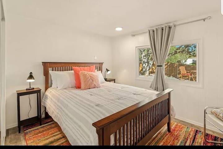 Third bedroom.  Brand new queen mattress.
