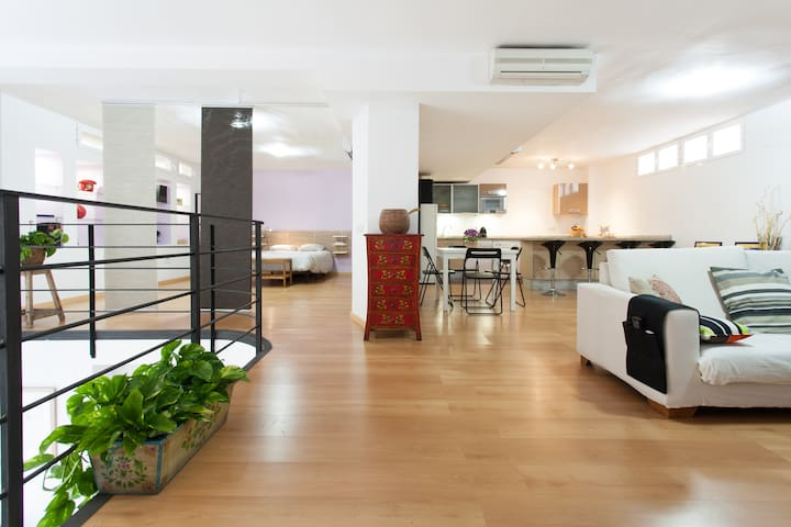 Loft adjacent to Santa Cruz  - Seville - Apartment