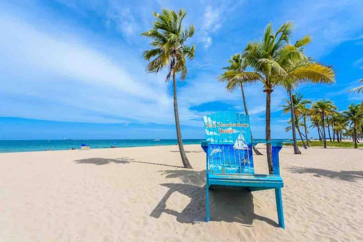 Unit #1 - Fort Lauderdale's Best Airbnb, Centrally Located! Harbourside Flats