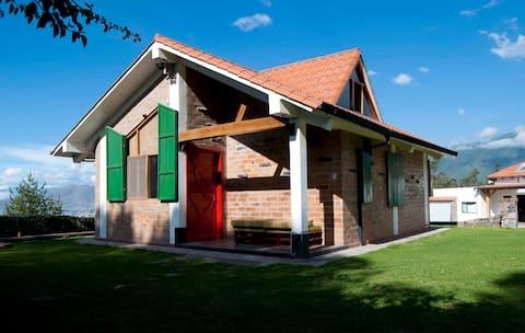 Euskal Etxea- Casa Vasca (cabaña entera)