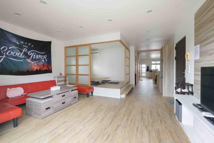 [彩虹🌈之廈](每日一組房客,2-6人)三房兩廳兩衛享有私人空間