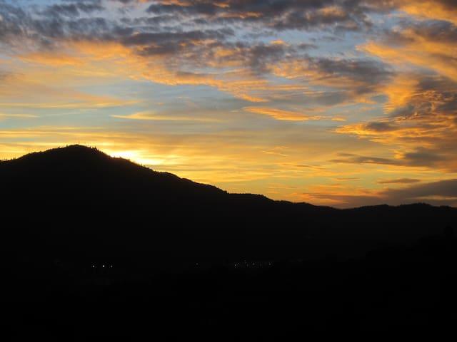 Deadwood Mountain--Sunset View #1