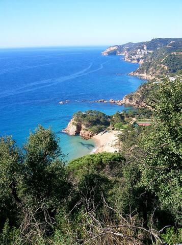 Sea-view apartment at the beach - Sant Feliu de Guíxols