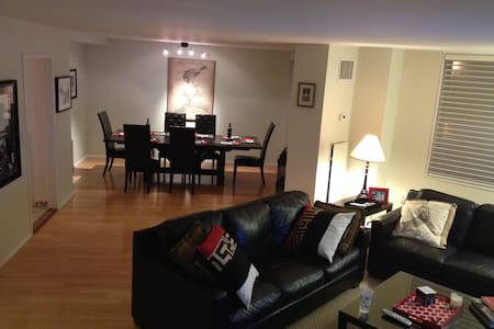 2,000 Sq Ft Super Bowl Duplex Condo - Secaucus