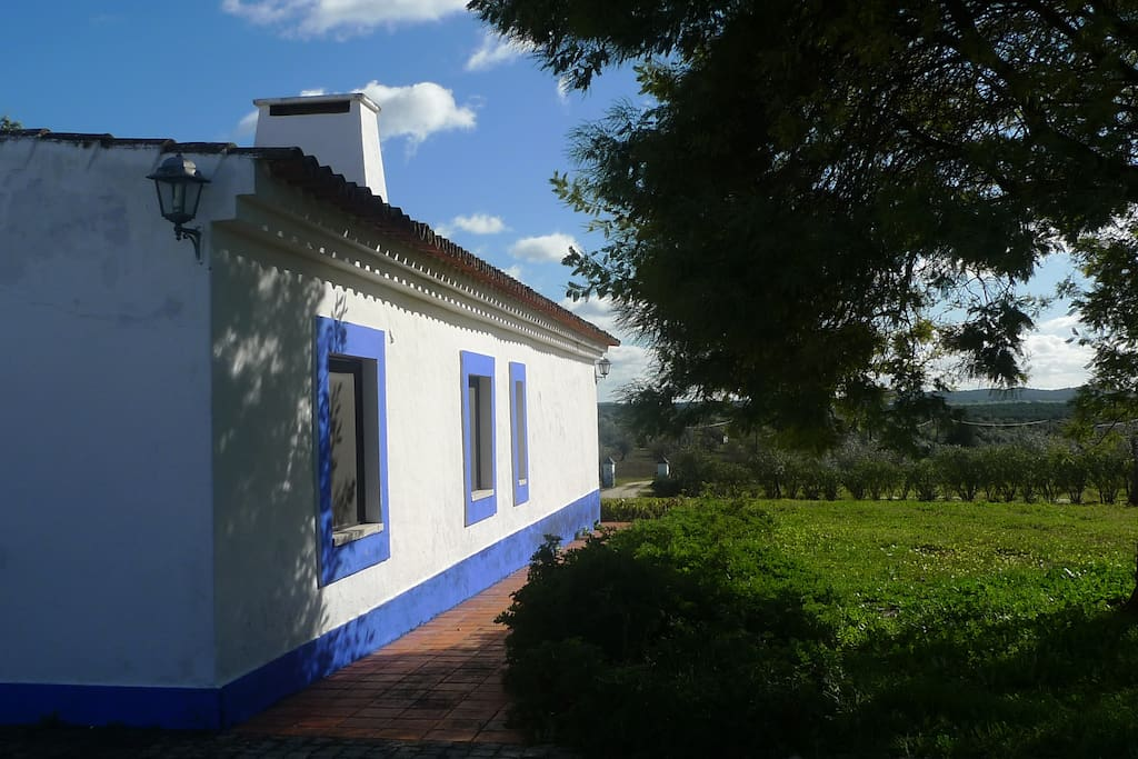 To our typical Alentejo House