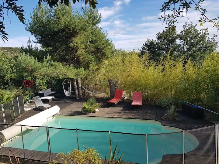 Villa avec piscine au coeur du Verdon en Provence