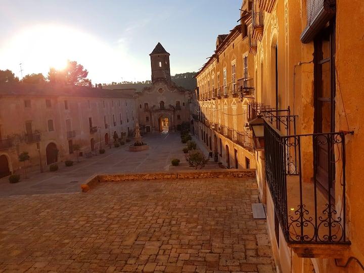 Santes Creus Labadia alojamiento,  Tarragona,