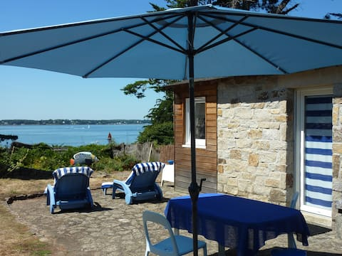 Guesthouse, beautiful sea view on Ile aux Moines