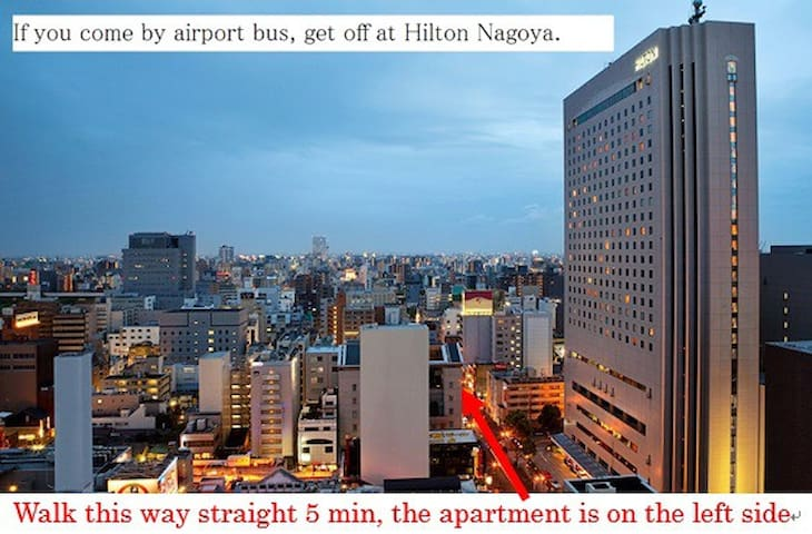 0.6km from Fushimi / 1.5km from Nagoya station. 4F -  Nagoya