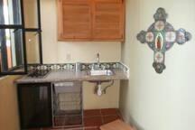 Casita's kitchenet