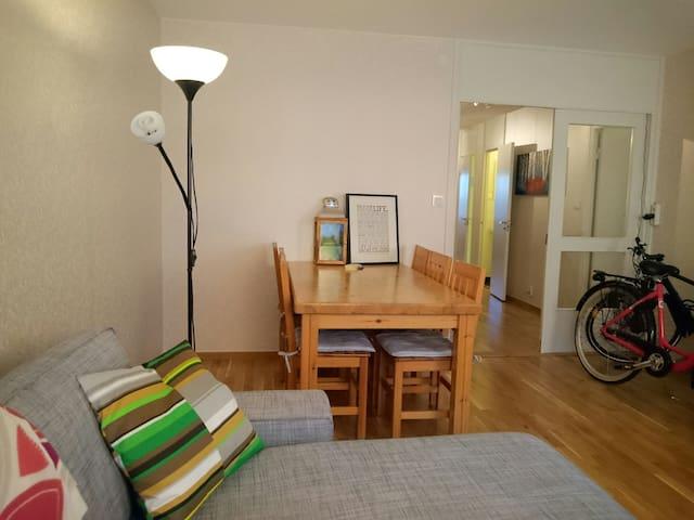 Private Bedroom in Modern Apt. - Älta - Apartment