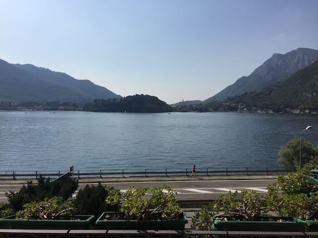 appartamento bellissimo fronte lago - Lecco - Apartemen