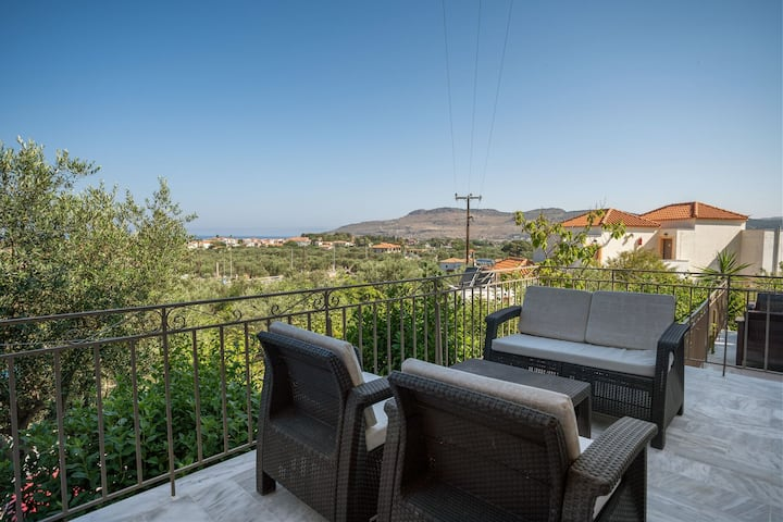 Lovely Apartment in Lesbos Island with Balcony