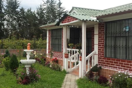 Mi casita de campo / Relaxing country home - Ambato