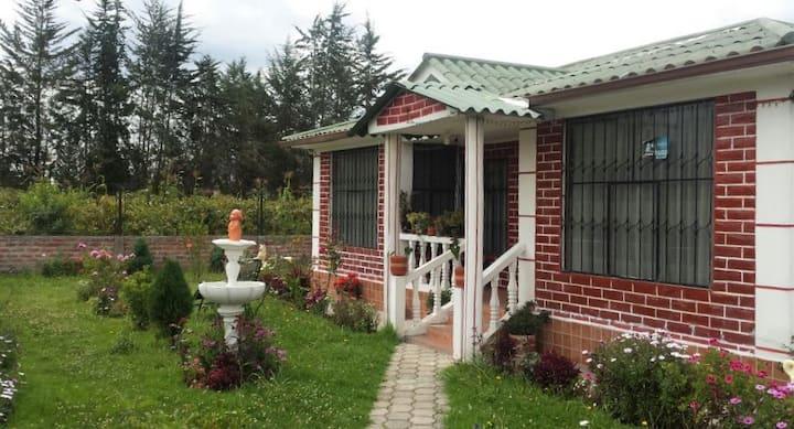 Relaxing home in Ambato / Mi casita de campo