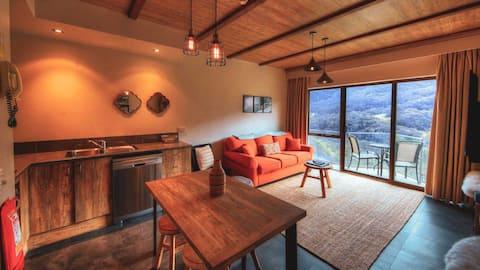 อพาร์ทเมนท์ระเบียงสไตล์ภูเขาโคมไฟ 20
