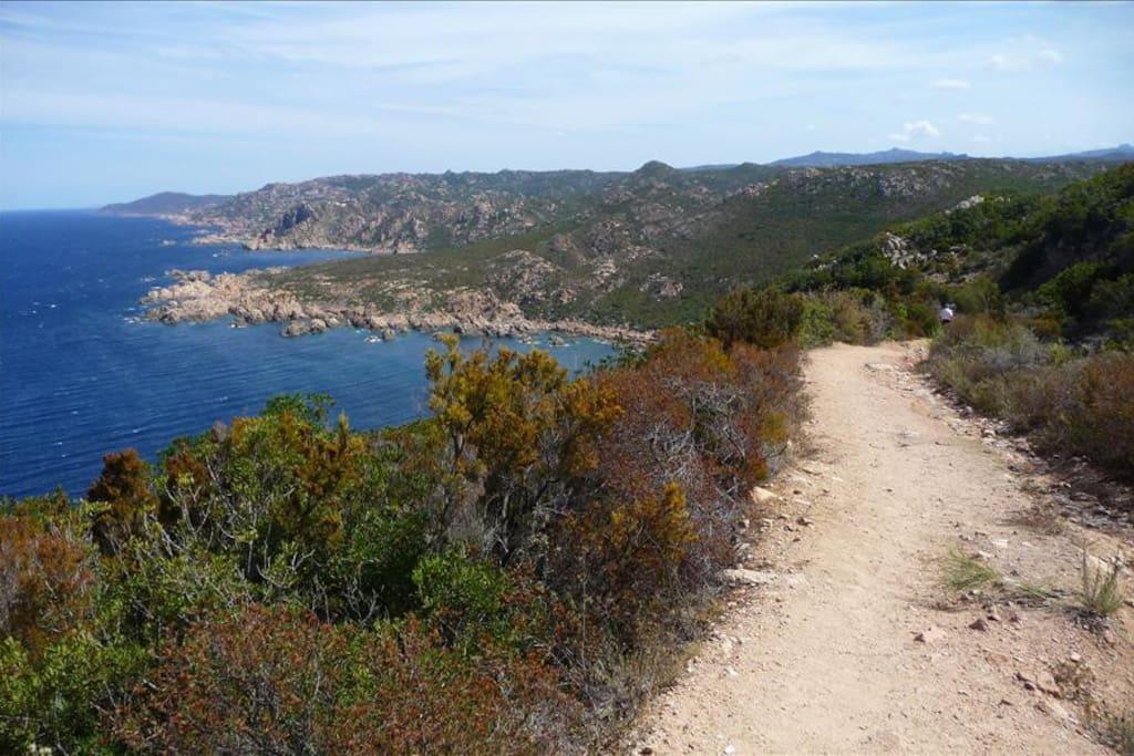 On The Footpath To Tinnari Beach