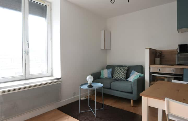 Charming architect studio at the heart of Lille, nearby Solférino - Welkeys
