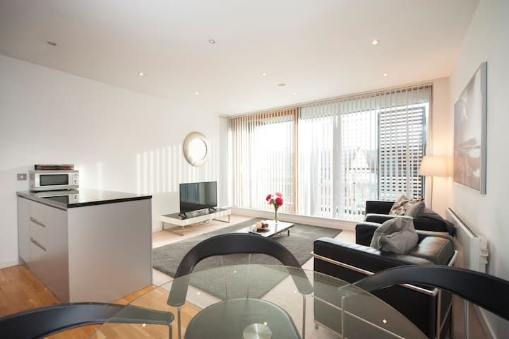 Stylish Quayside Apt 2 Bed/2bath - Newcastle upon Tyne - Huoneisto