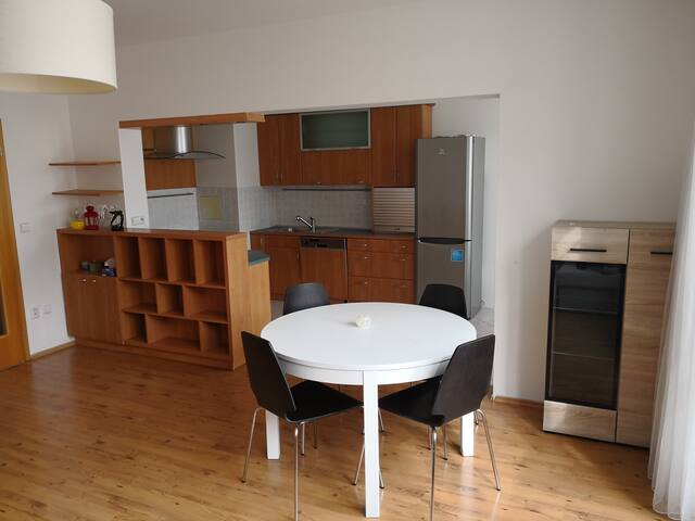 Cozy apartment for 5 persons near to forest