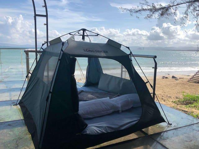 单人沙滩帐篷~享受与沙滩零距离的小众户外生活方式