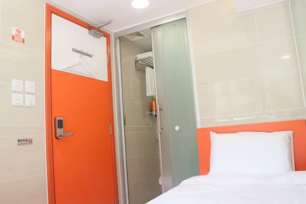 Ensuite Double/Twin Room with private shower and toilet