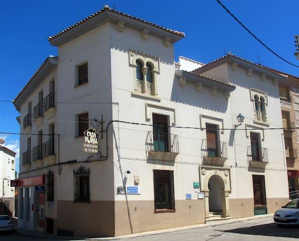 Habitación doble en casa rural - Santa Cruz de la Zarza - Bed & Breakfast