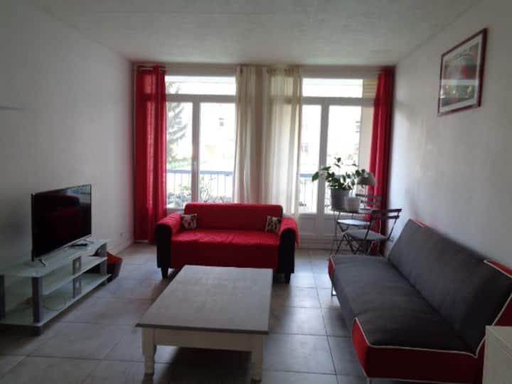 Appartement chaleureux et cosy
