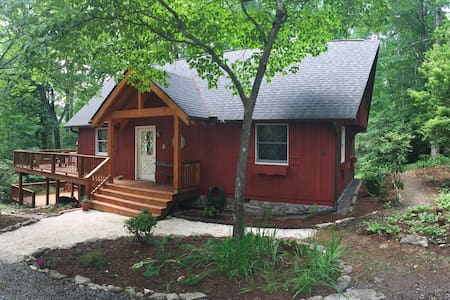 Red Chalet/2 Beds Sleep 4/Dogs ok - Pisgah Forest - Hus