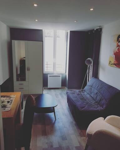 Appartement cosy climatisé.