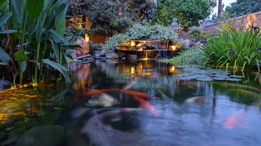Waterhaven - A Pondside Oasis