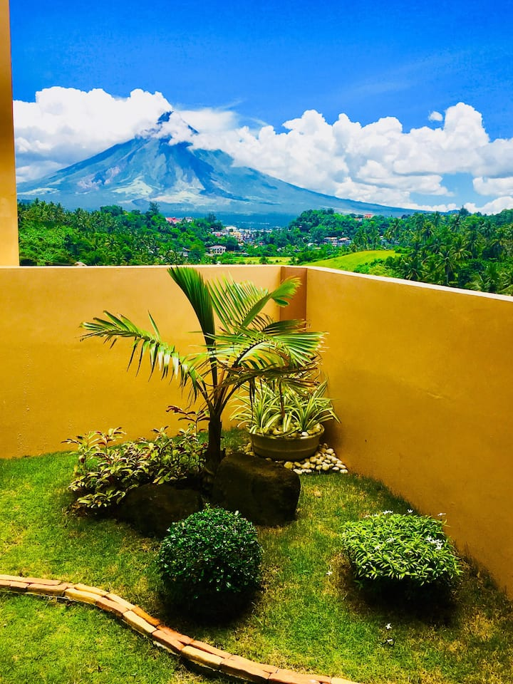 Newly Built House w/ a view of Mayon and the City