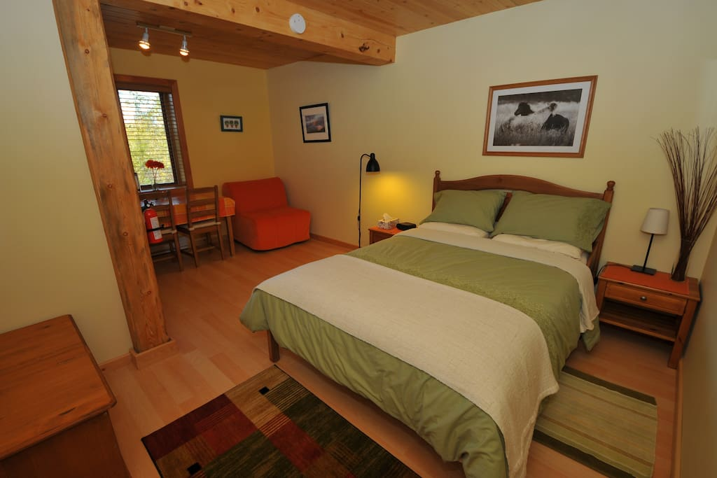 Bearberry meadows goslin suite guest suites for rent for Guest house on the mount reviews