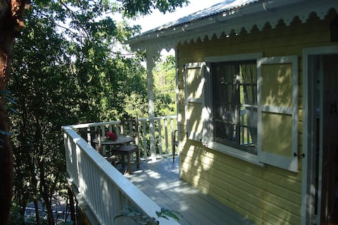Treehouse at Galley bay Cottages