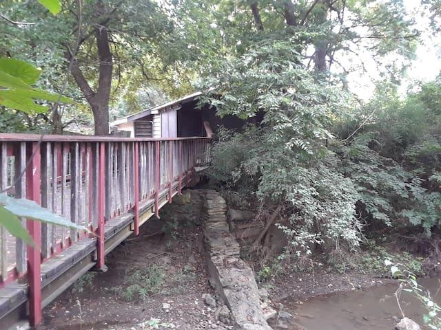 Artist's Cabin on a Creek