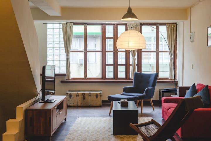 Western comfort in oldschool Taipei